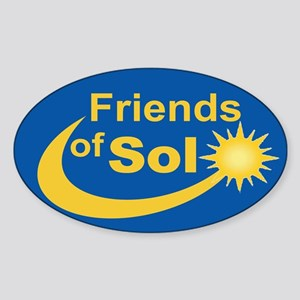 Friends of Sol-3x5-Oval Sticker